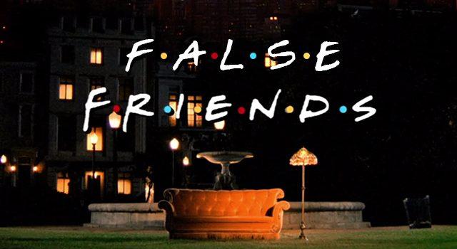 False Friends en inglés