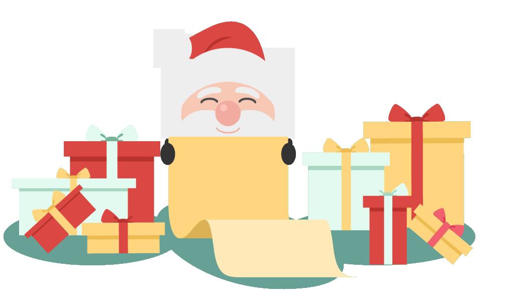 Santa Claus Carta en inglés
