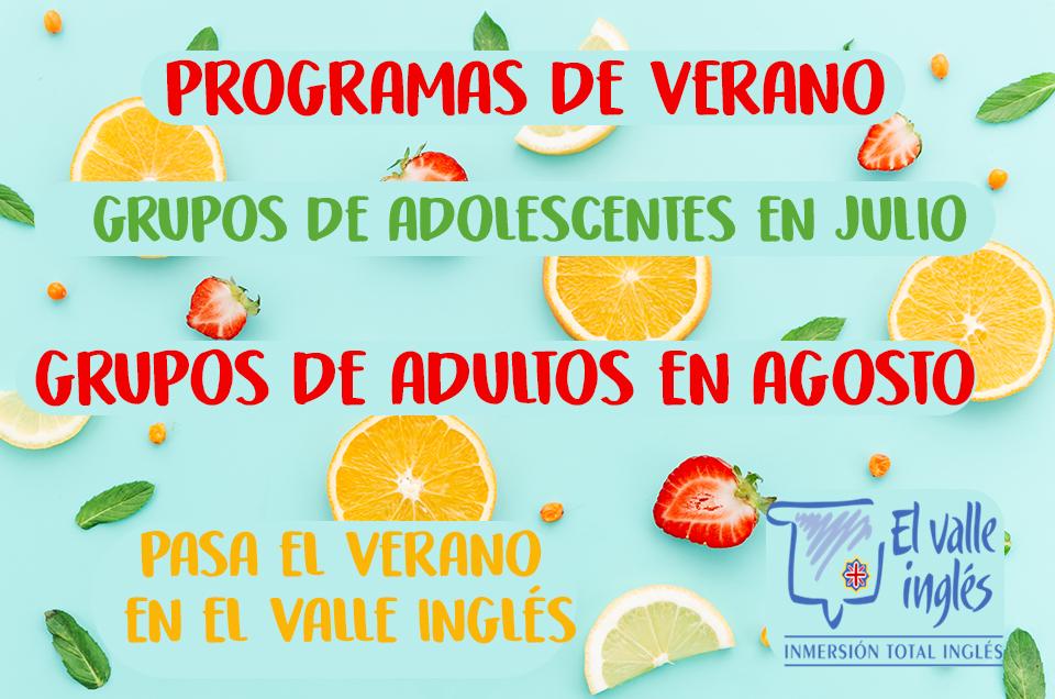 Programas de verano
