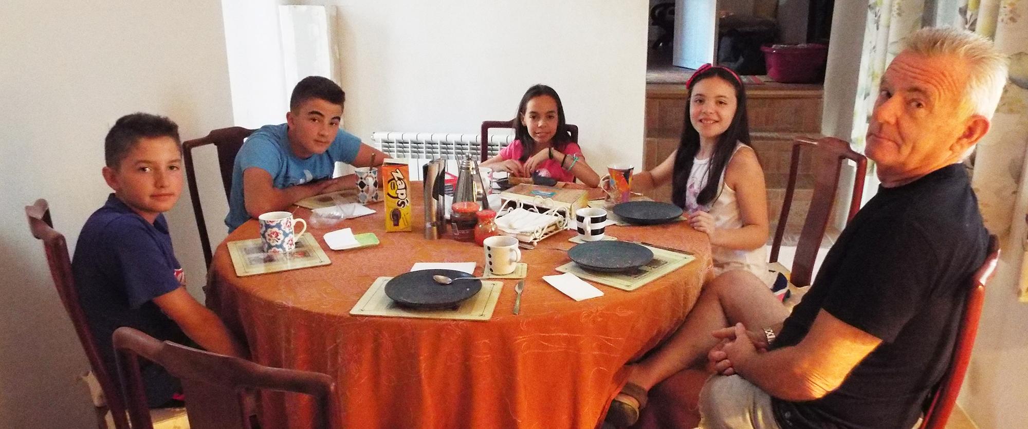 Alojamiento con familia inglesa Adolescentes