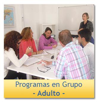 Programa de inmersión en grupo para adultos