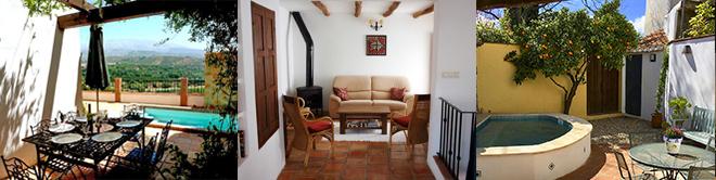 Casas Rurales - El Valle de Lecrín - Granada