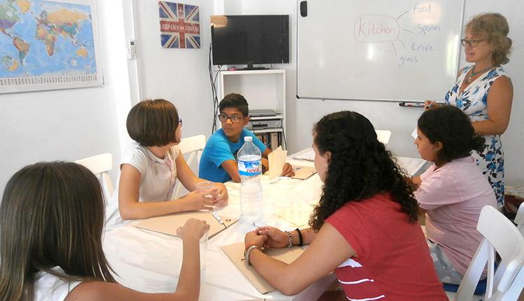 Clases con nativos ingleses - programa inmersión en inglés colegios