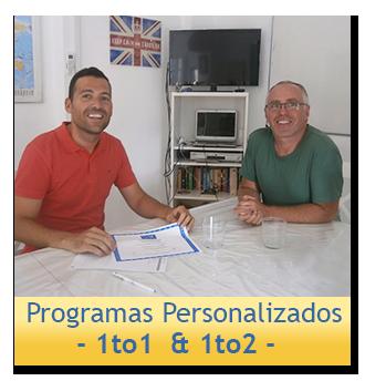 Programa de Inmersión en Inglés Personalizado 1to1